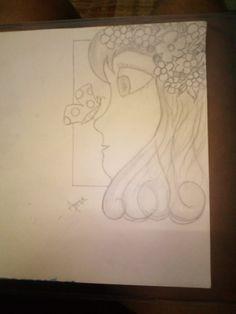 Female, Drawings, Art, Art Background, Kunst, Drawing, Portrait, Art Education, Illustrations