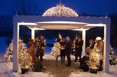 #winter #wedding #outdoor #venue