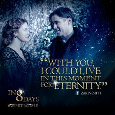 8 days until #WintersTale…  Thank you, Zak, for sharing this beautiful quote with us!