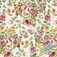 Wg093 Rose digital printed fabric, fancy custom print fabric
