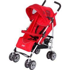 Carrinho de Bebê Burigotto X-Treme Red, praticidade ao extremo.    Leve e compacto quando fechado.    Fácil de transportar.  R$441.63