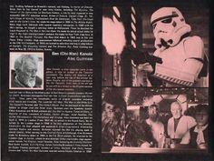 Star Wars original program page 6. Copyright 1977 by Twentieth Century-Fox Film Corporation. All Rights Reserved.