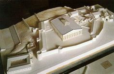 Reconstruction of the temple of Demeter