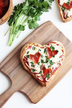 Easy Homemade Heart Pizzas for Valentines Day | Sweet Little Peanut