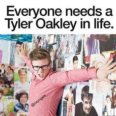Yes. Or just Tyler Oakley himself lol