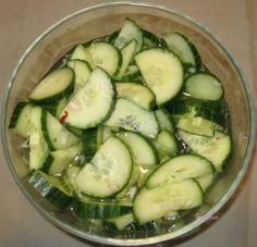 Thai Cucumber Salad.  Great #glutenfree dish!