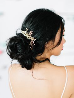 hair styles medium length hair kardashian wedding hair hair vines hair with combs hair for bridesmaids hair flowers hair with veils wedding hair Quince Hairstyles, Veil Hairstyles, Wedding Hairstyles, Bridesmaid Hair, Prom Hair, Bridesmaids, Glamour, Headpiece Wedding, Hair Wedding