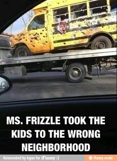 Jeeze Ms. Frizzle! Get it together!!
