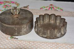 Antique Vintage Tin Flower Cookie Cutter Metal    http://americantraditioncookiecutters.com/