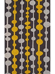 Carbon area rug