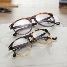 Iconic eyewear designs, contemporary juxtapositions :: Reimagined classics live…