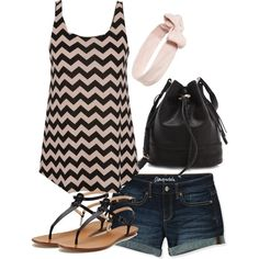 """""""Simple Summer Style"""" by deedee22371 on Polyvore"""