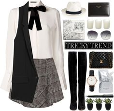 """Tricky Trend: Over-the-Knee Boots"" by darmayanti on Polyvore"