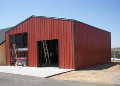 Metal Building Color Ideas