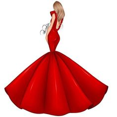 Today I am officially 21 yo! Yeah it's my birthday and Idk what say. maybe the only thing I can say is that Time is Flying so fast! Anyway this is a new Xmas illustration all in RED ❤️ I tried to make a sexy but elegant and classy dress at Dress Design Sketches, Fashion Design Sketchbook, Fashion Design Drawings, Fashion Sketches, Drawing Sketches, Fashion Drawing Dresses, Fashion Illustration Dresses, Fashion Illustrations, Fashion Dresses