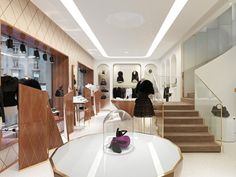 Anne Fontaine boutique by Gabriel Kowalski Paris