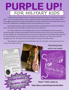 April is Month of the Military Child #SDSLCornerstone