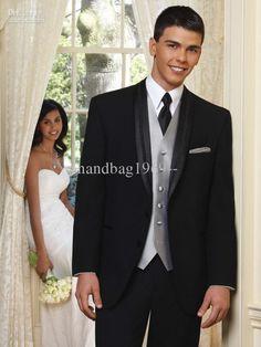 Groom Tuxedos Men's Wedding Dress Bridegroom Suit Best …