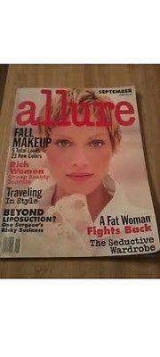 Allure Magazine ~ Sept 1993 ~ Amber Valletta, Fair Vintage Condition Rare & HTF Amber Valletta, Fall Makeup, Conditioner, Magazine, Ebay, Vintage, Magazines, Vintage Comics, Fall Makeup Looks