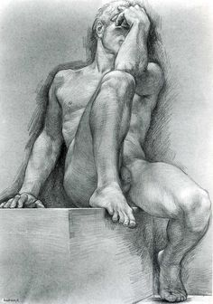 Paul Cadmus, male nude