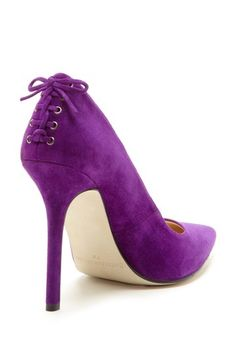 OMG SHOES! / Corset Purple Pumps / Enzo Angiolini |Purple Heels|