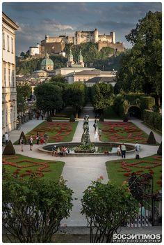 Schloss Mirabell Salzburg, Austria
