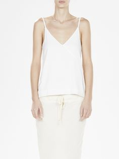 lightweight crossover camisole the bassike philosophy centers around high-end design & construction with a commitment to sustainable manufacturing.