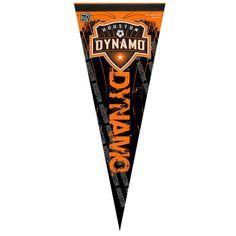 "Houston Dynamo WinCraft 12"" x 30"" Premium Quality Pennant"