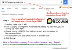 How to get your #WordPress Article Featured on #Google Search Result Page (SERP)? - #SEO Tips http://crunchify.com/wordpress-article-featured-google-search-page-serp/