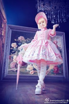 Lolita in an AP jsk Harajuku Fashion, Kawaii Fashion, Cute Fashion, Visual Kei, Mode Lolita, Lolita Style, Filles Alternatives, Gothic Lolita Fashion, Gothic Fashion
