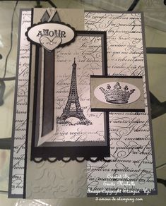 From Paris With love by emichelle - Cards and Paper Crafts at Splitcoaststampers