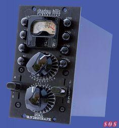 Shadow Hills Dual Vandergraph - 500 series stereo compressor