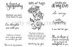 May HOPE Sustain You {march 2014 sentiment kit} - Unity Stamp Co