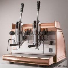ATHENA ESPRESSO MACHINE - 2 GROUP LEVA - COPPER