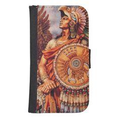 Eagle Warrior Samsung S4 Wallet Case