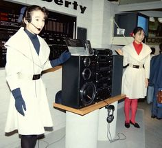 Transmitting on all frequencies. SONY Liberty 1983. www.1001hifi.com