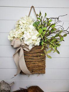 View All Products – FarmHouse Florals Front Door Decor, Wreaths For Front Door, Door Wreaths, Summer Deco, Deco Floral, Diy Wreath, Summer Wreath, Porch Decorating, Floral Arrangements