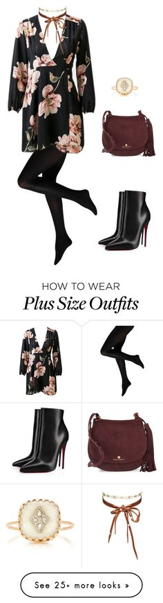 """Untitled #5237"" by carlafashion-246 on Polyvore featuring Vince Camuto, Pascale Monvoisin, Chan Luu and Christian Louboutin"