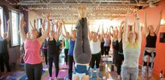 Get funky with your mom this Mother's Day at the Funky Buddha Yoga Hothouse in #EastownGR