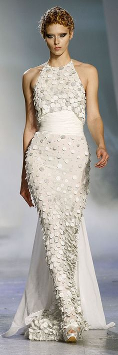 Zuhair Murad - white long dress