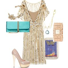 Gatsby-esque...I don't just want it. I want somewhere to wear it.