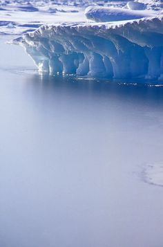 Iceberg, Resolute Bay, Nunavut, Canada | by davebrosha, via Flickr.