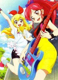 Ichigo and Seira