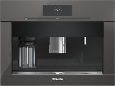 Milel - CVA 6805 - Built-in coffee machine with bean-to-cup system - the Miele all-rounder for the highest demands. Espresso Machine, Miele Coffee Machine, Cappuccino Machine, Domestic Appliances, Best Appliances, Kitchen Appliances, Kitchens, Coffee Aroma, Decaf Coffee