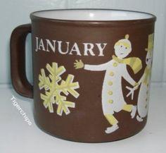 Hornsea January mug