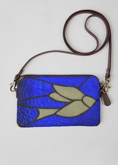 VIDA Statement Clutch - Abstract floral painting by VIDA 79h2MWi6wa