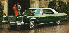 1977 Chrysler New Yorker Brougham  (very comfortable seating)