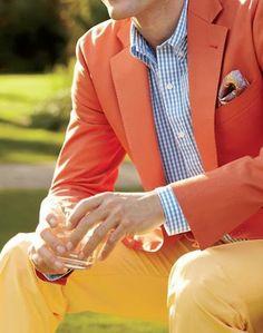 Summer Colors... Real Men wear pastels.