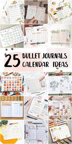 Fun Bullet Journal Monthly Calendar Doodles For Work - Bullet Journals For Students #templatebulletjournal #bulletjournalcalendar #bulletjournalsetup