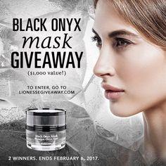 Black Onyx Mask Giveaway